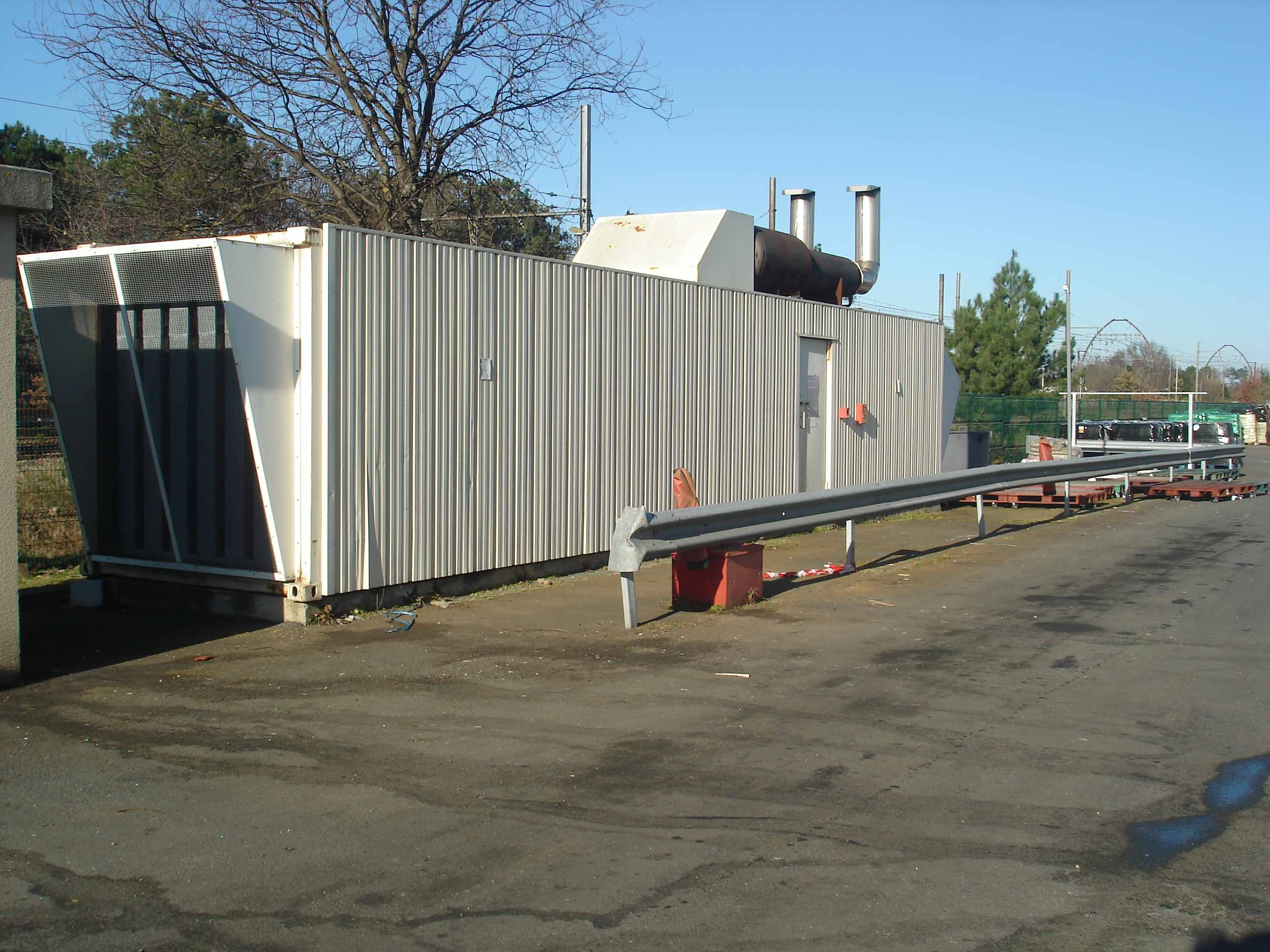 Reprise de Groupe electrogene en container 1750kva