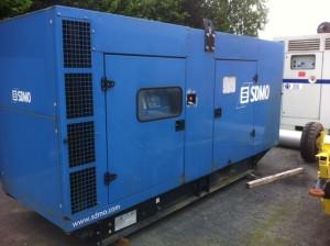 Volvo sdmo groupe electrogene secours